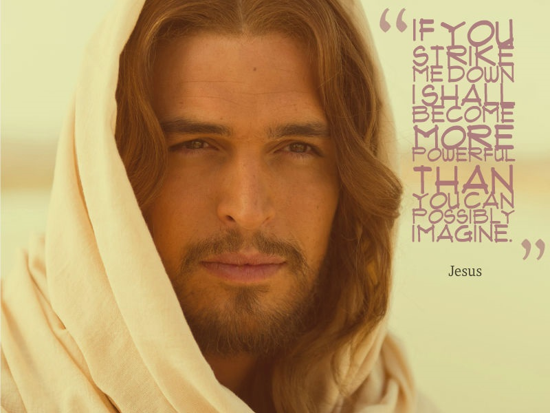 Famous Quotes - Jesus fake
