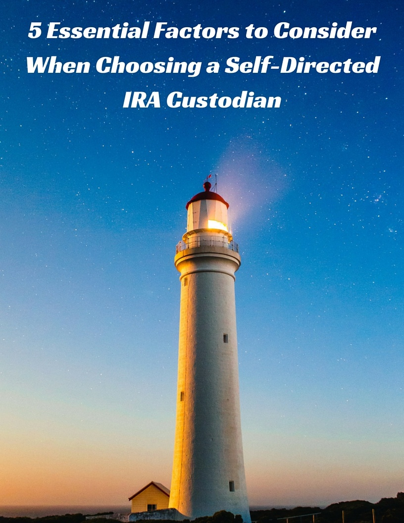 how to choose a self directed ira custodian