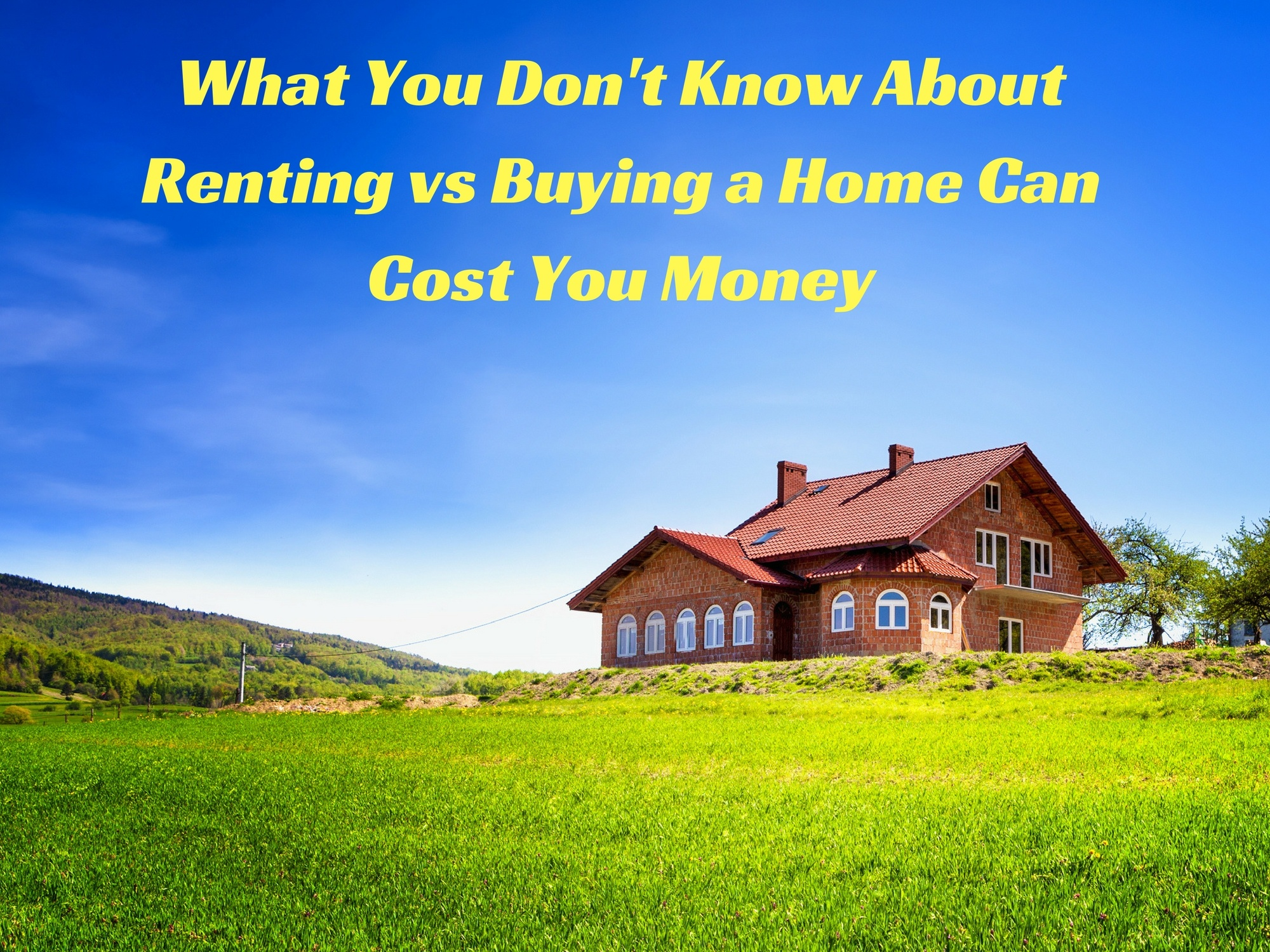 owing vs renting a house Appreciation in the value of the house transactional costs when buying  buying vs renting a home diffencom diffen llc, nd web 7 sep 2018 .