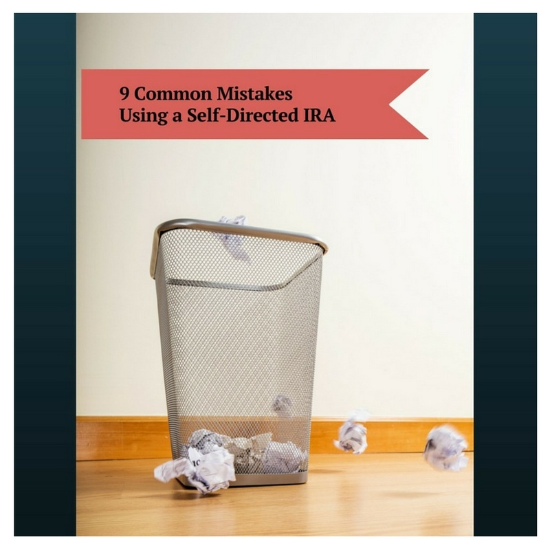 self directed ira mistakes